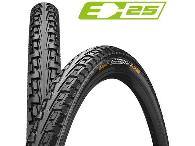 "Continental Ride Tour Tyre 28"", wire bead black"
